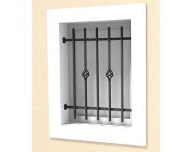 Défense de fenêtre modèle 06