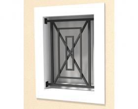 Défense de fenêtre modèle 14