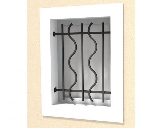 Défense de fenêtre modèle 11