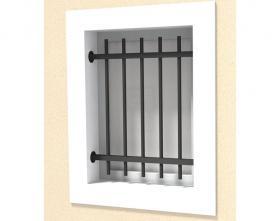 Défense de fenêtre modèle 19