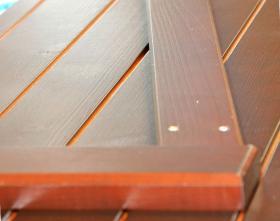 Volet battant 32 mm barres et écharpes