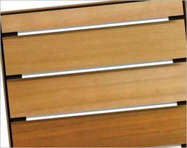 Volets battants girasols et medley bois