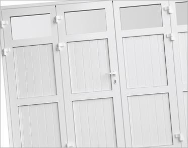 Portes de garage Symbioz'A