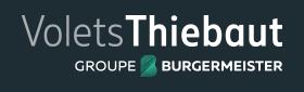 Logos négatifs Volets Thiebaut en différents formats