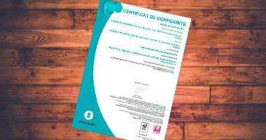 Certification de Conformité PEFC