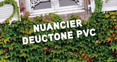 Nuancier  Deuctone PVC