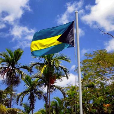 Les volets des îles Bahamas