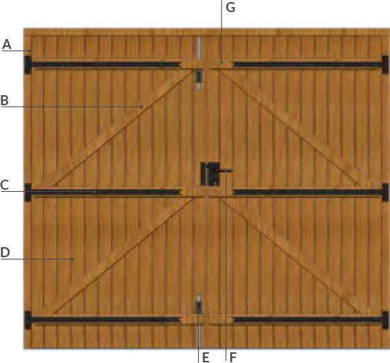 Comprendre la porte de garage bois