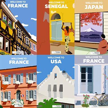 Voyagez autour du monde avec Volets Thiebaut
