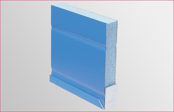 Le volet aluminium isolé des Volets Thiebaut est constitué d'un panneau sandwich isolant constitué de deux tôles d'aluminium et d'une âme en polystyrène, du fabricant ISOSTA, leader français dans le façonnage de ce type de panneaux